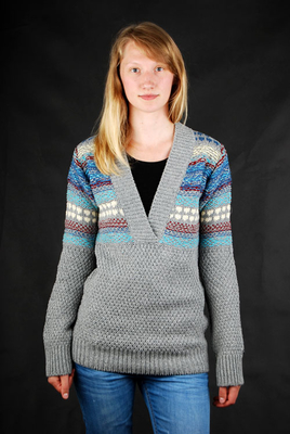Billabong Elena Heather Grey Strickpullover