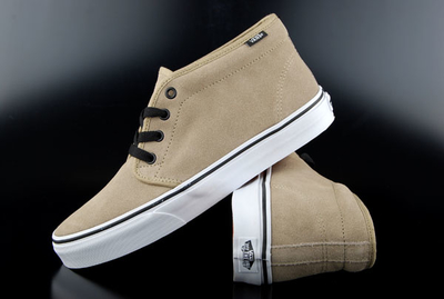 Vans Shoe Chukka Boot Suede Dune True White