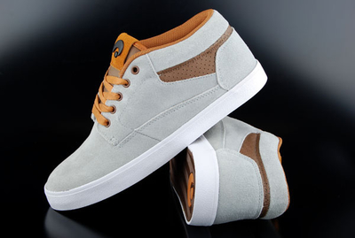 Osiris Chaveta Grey Brown Natural Skate Shoes