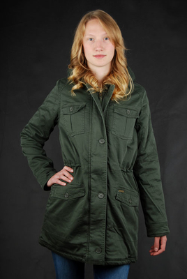 Billabong Parka Aby Olive Damen Mantel
