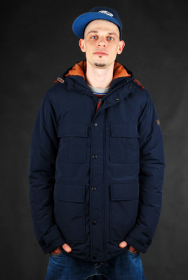 Billabong Parka Horn New Navy Wintermantel