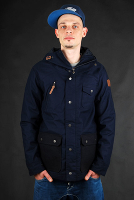 Element Bunkport Navy Blue Jacke