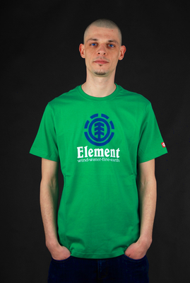 Element Basic Shirt Vertical SS Simply Green
