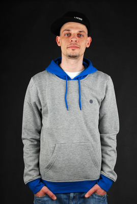 Element Harlem Hoodie Grey Heather