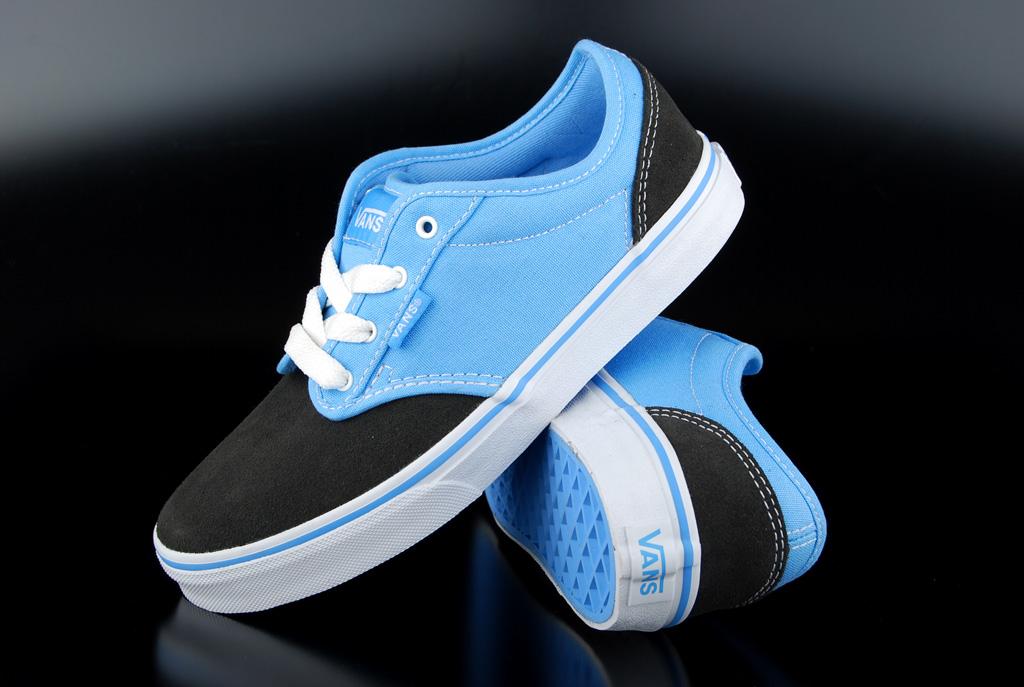 3a73d25006 Vans Kids Atwood Two Tone Black Blue