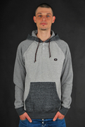 Billabong Balance Zip Hoodie Dark Grey Heather