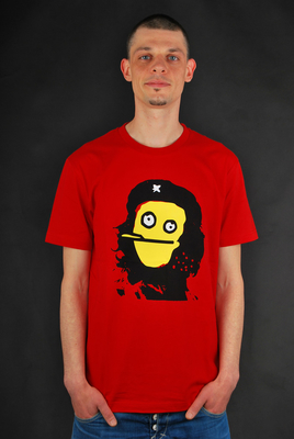 Cleptomanicx T-Shirt Zhe Red