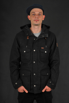 Element Hemlock Wool Charcoal Heather Jacket