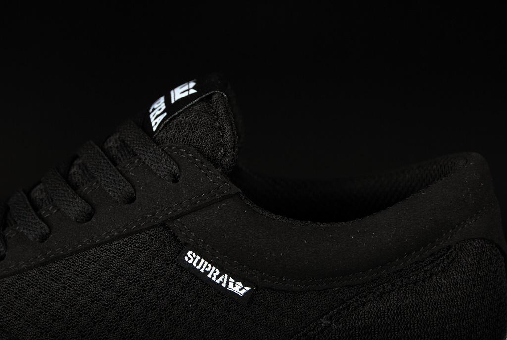 7c15b1642046 Supra Hammer Run Black Black White S55005