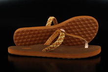 Vans Krista Braid Sandals Brown Sugar Doe