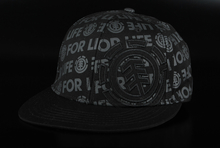 Element Logover Cap Black Basecap