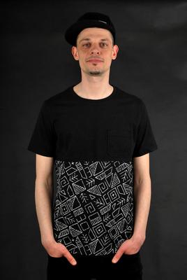 Element T-Shirt Cutler Black