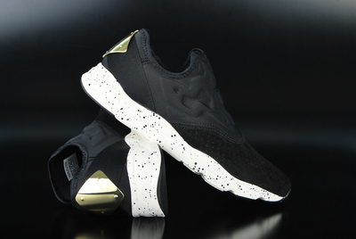 Reebok Furylite Slip-On Lux Black Chalk RBK