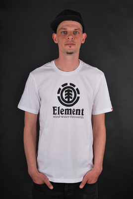 Element T-Shirt Vertical SS Optic White S