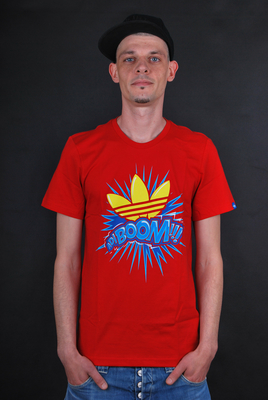 Adidas Originals Adiboom Red T-Shirt