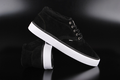 Element Preston Black Mid Top Sneaker