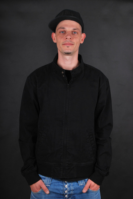 Element Ray Barbee Harrington Flint Black Jacke