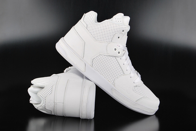 K1X Lazy High All White High Top Sneaker