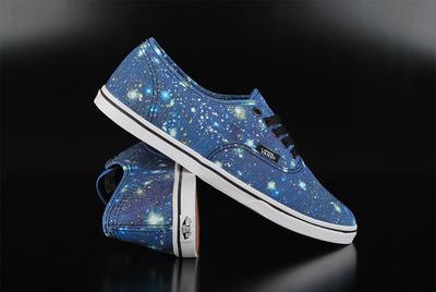 6412f3ab5c Vans Authentic Lo Pro Satellite Black Sneaker
