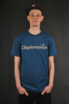 Cleptomanicx Citype MJ Blue T-Shirt