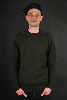 Adidas Originals Adventure Knit Crew Night Cargo Camo Print Pullover