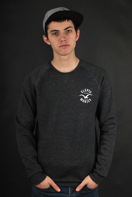 Cleptomanicx Cruiser Crewneck Black Sweatshirt