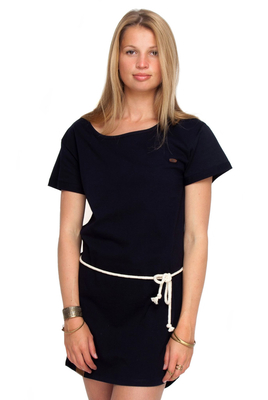 Shisha Baasic Navy T-Shirt Kleid Dress