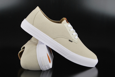 Globe Motley Lyte Perforated Sand White Sneaker