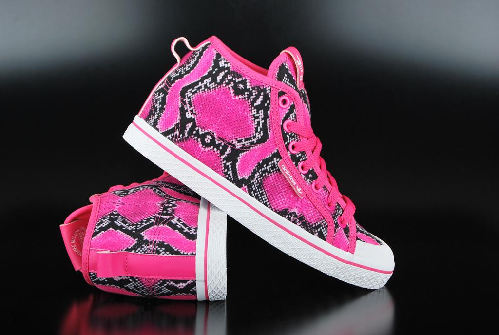 ADIDAS Honey up Mid Joy Pink White Scarpe Sneaker