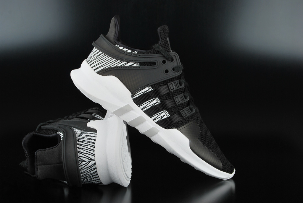 more photos ed9d9 21dff Adidas Originals EQT Support ADV J Core Black White Sneaker