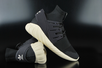 Adidas Originals Tubular Doom Primeknit Core Black Core White Sneaker