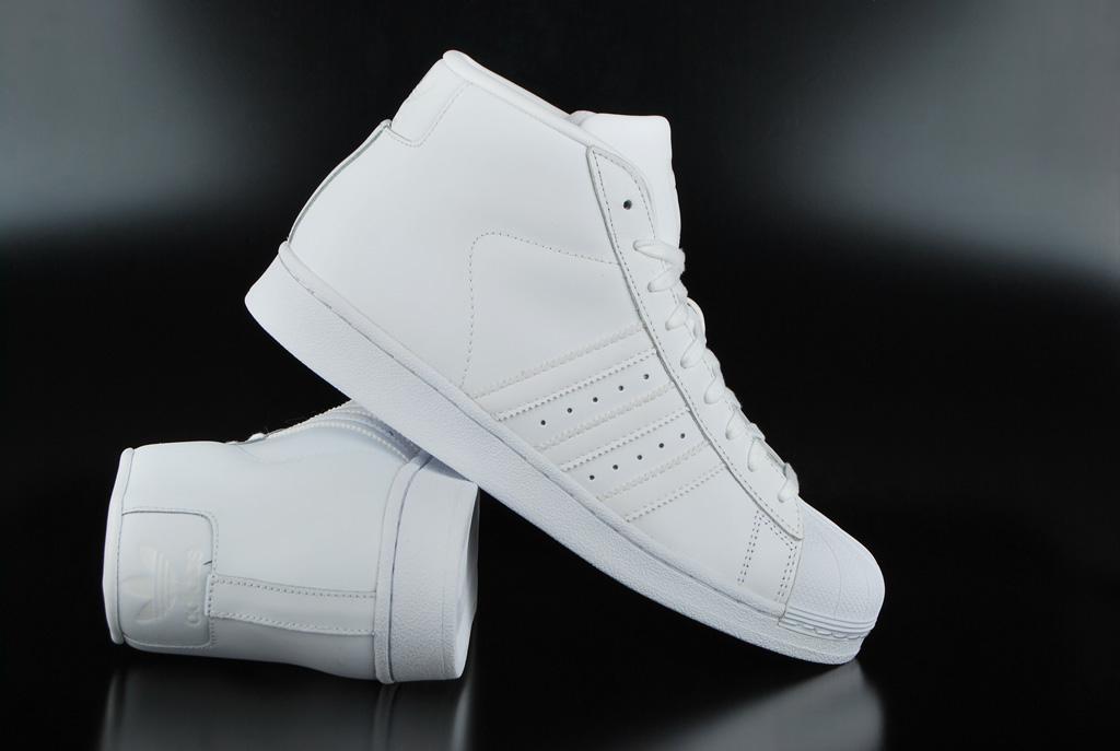 livraison gratuite a0855 0f974 Adidas Originals Pro Model White White Sneaker