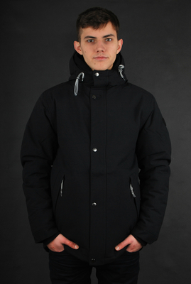 Cleptomanicx Fleet 2 Black Winterjacke