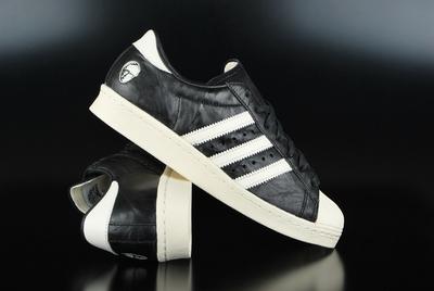 Adidas Consortium x Adi Dassler Superstar 80v Core Black Sneaker 8a9b368350