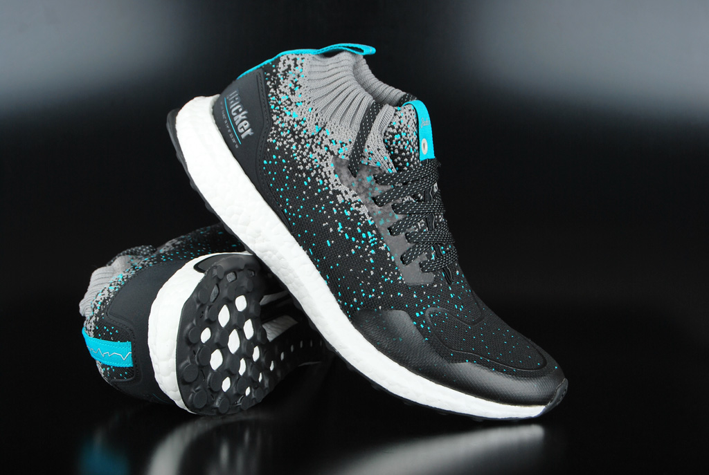 4028d8cc66 Adidas Consortium Solebox x Packer x Sneaker Exchange Ultraboost Mid S.E.  Core Black Energy Blue