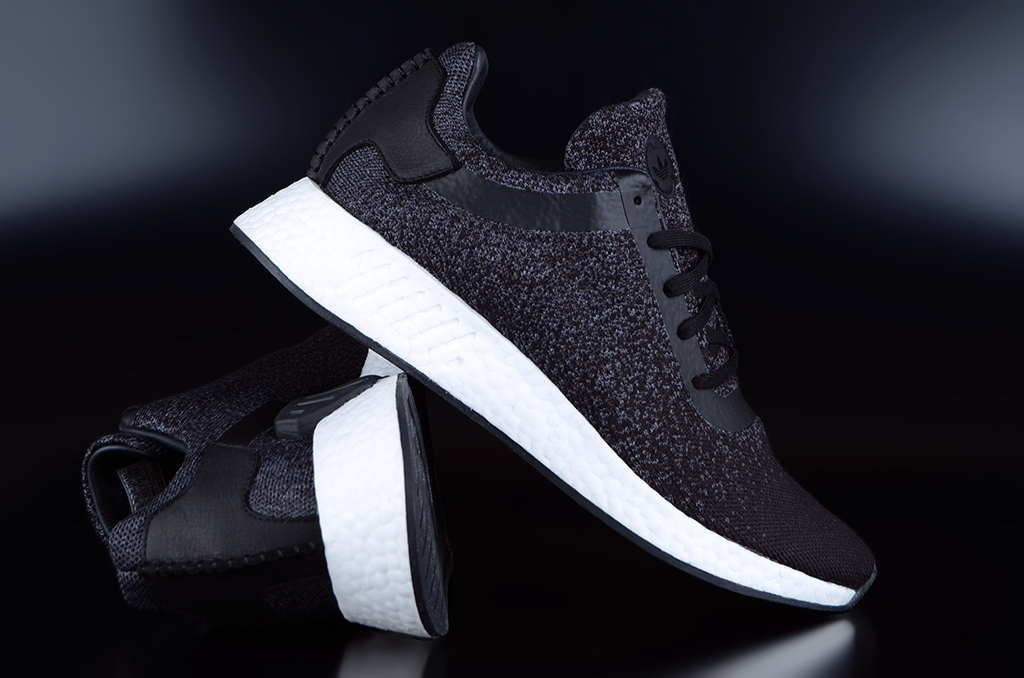 online shop top quality good service Adidas x Wings + Horns NMD R2 PK Core Black Sneaker