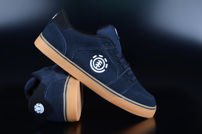 Element Heatley Navy Gum Skaterschuhe