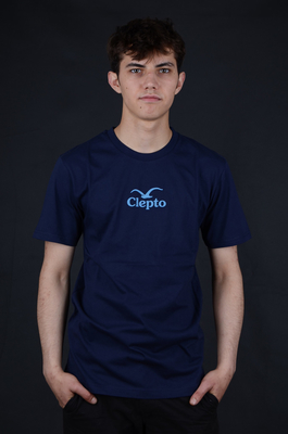 Cleptomanicx C.I. Dark Navy Basic T-Shirt