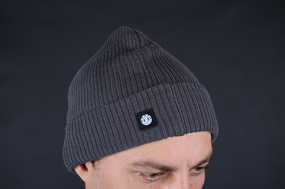 Element Flow II Stone Grey Beanie Mütze