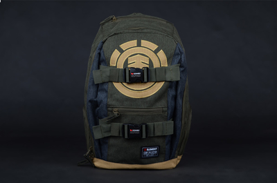 Element Mohave Moss Heather Rucksack Backpack