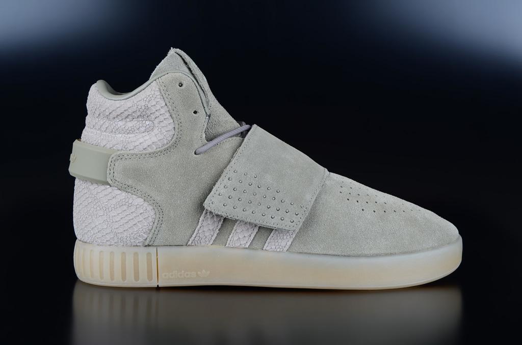 185b1aaad29de0 Adidas Originals Tubular Invader Strap Trace Cargo Sesame Sneaker
