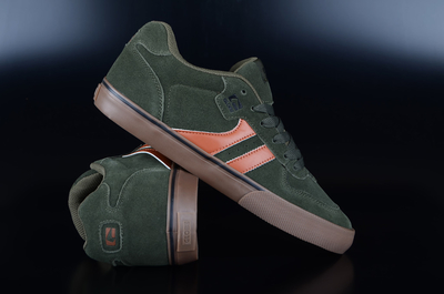 Globe Encore 2 Forest Green Tobacco Sneaker