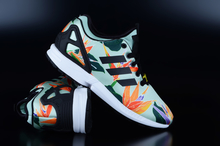 Adidas Originals ZX Flux NPS Green Black Yellow Sneaker