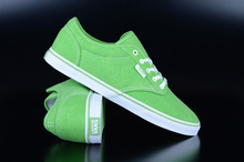 Vans Atwood Low Washed Neon Green Sneaker