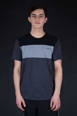 Hurley Dri Fit Blocked Anthracite T-Shirt