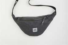 Cleptomanicx Hemp Hipbag Heather Dark Gray Bauchtasche