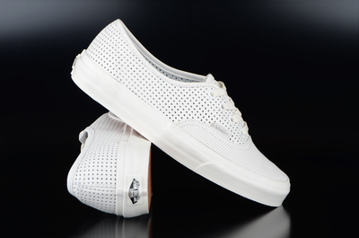 Vans Authentic DX Square Perforated White Sneaker